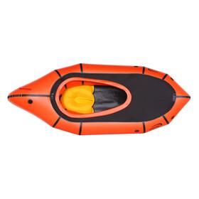 nortik TrekRaft with Deck orange/black